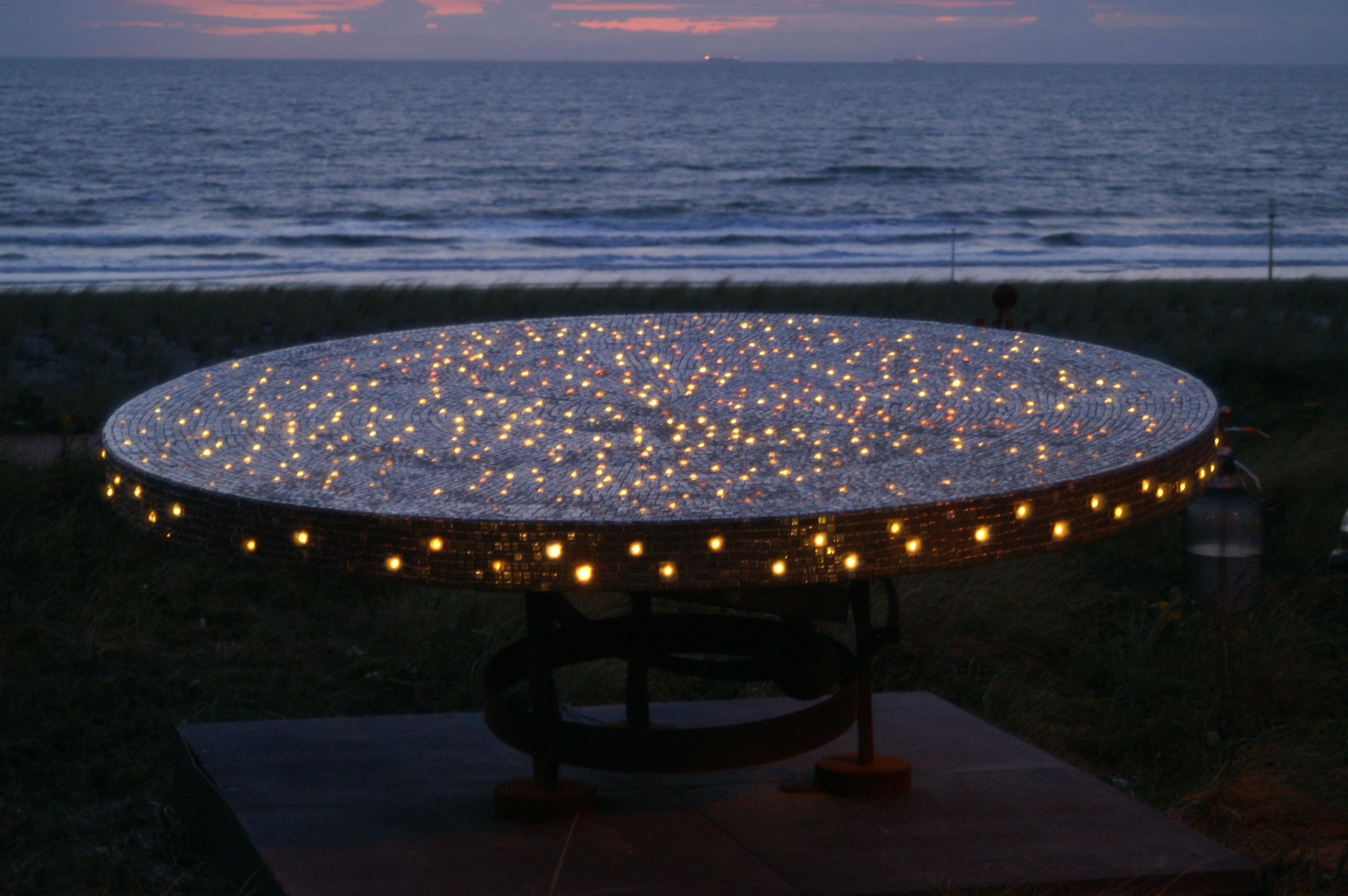 Light art Kijkduin