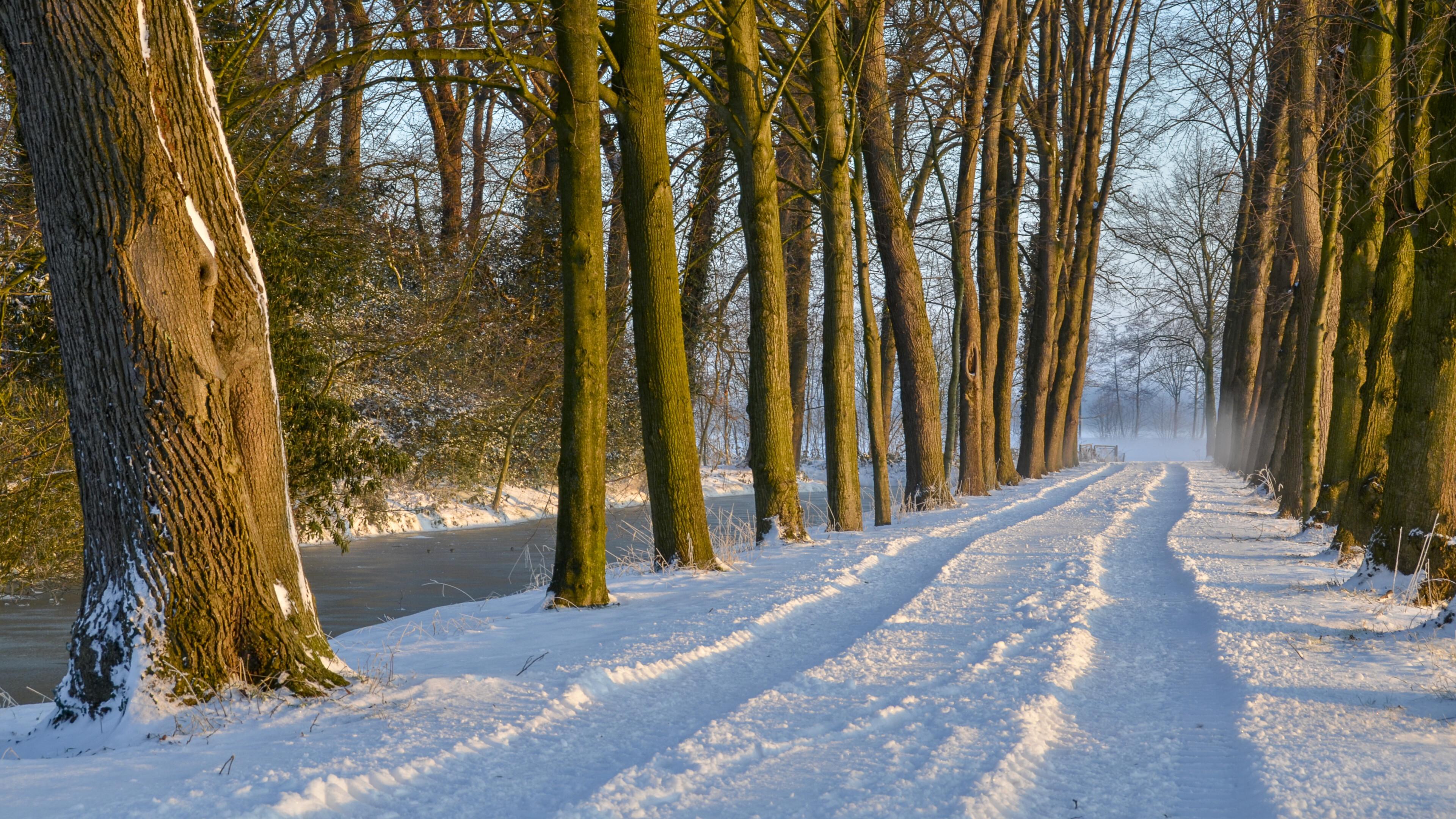 Winters Laantje